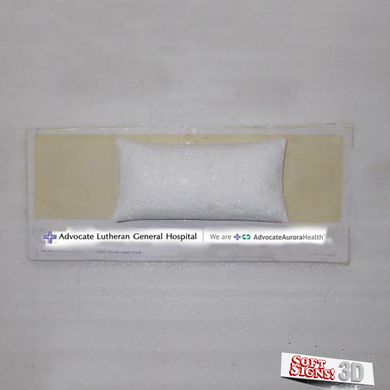 10.6 x 36 Pillow Sculpture
