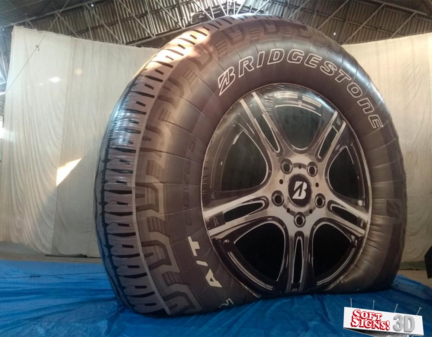 Bridgestone Tire 3D Air Sculpture