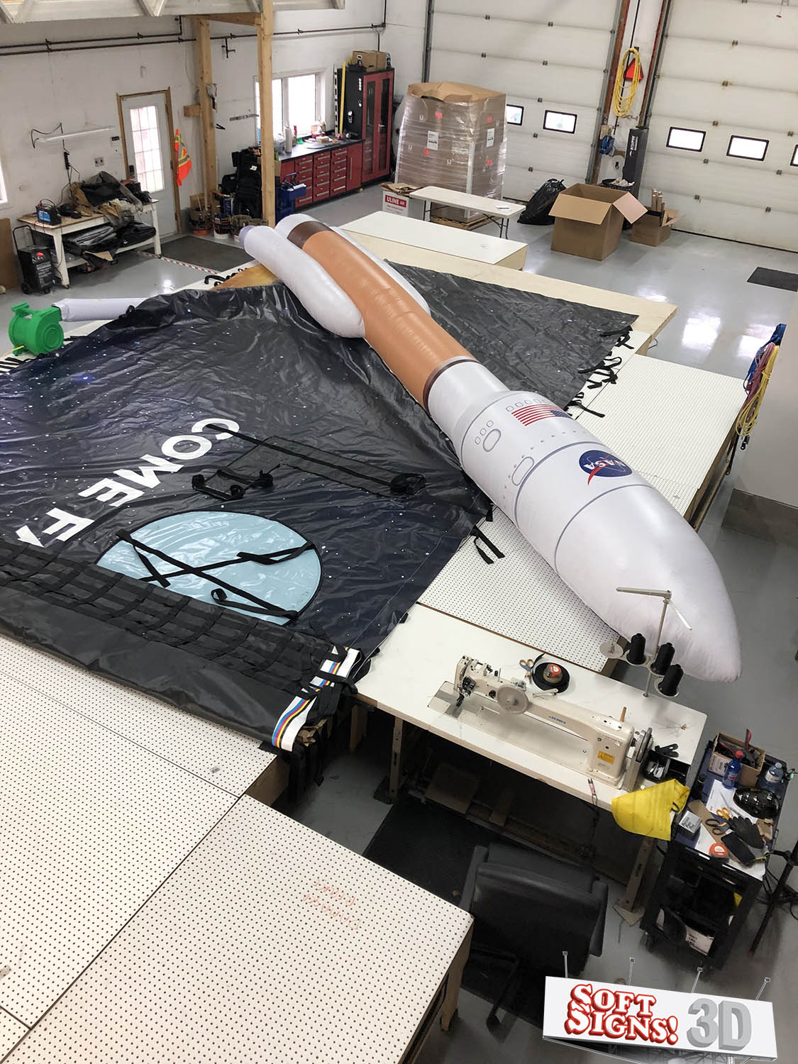 3D Rocket Billboard Install Process
