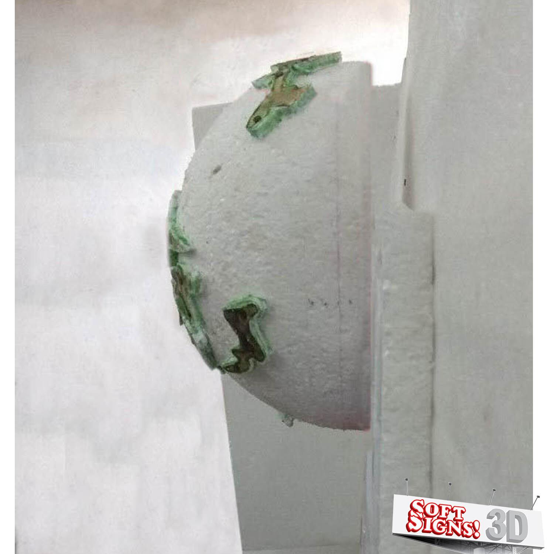 Meatball 3D Sculpture Process