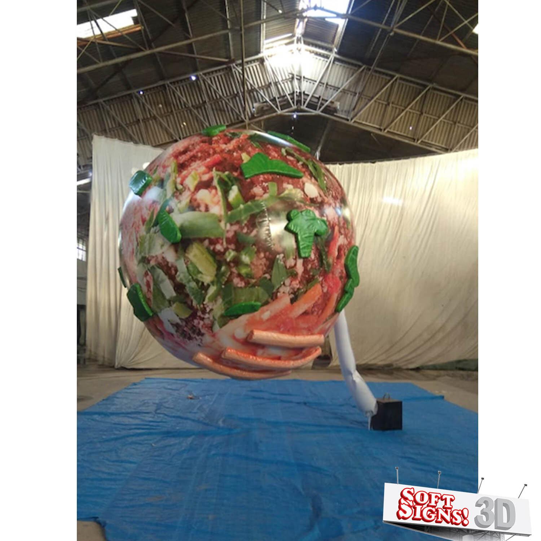 Meatball 3D Air Sculpture Process