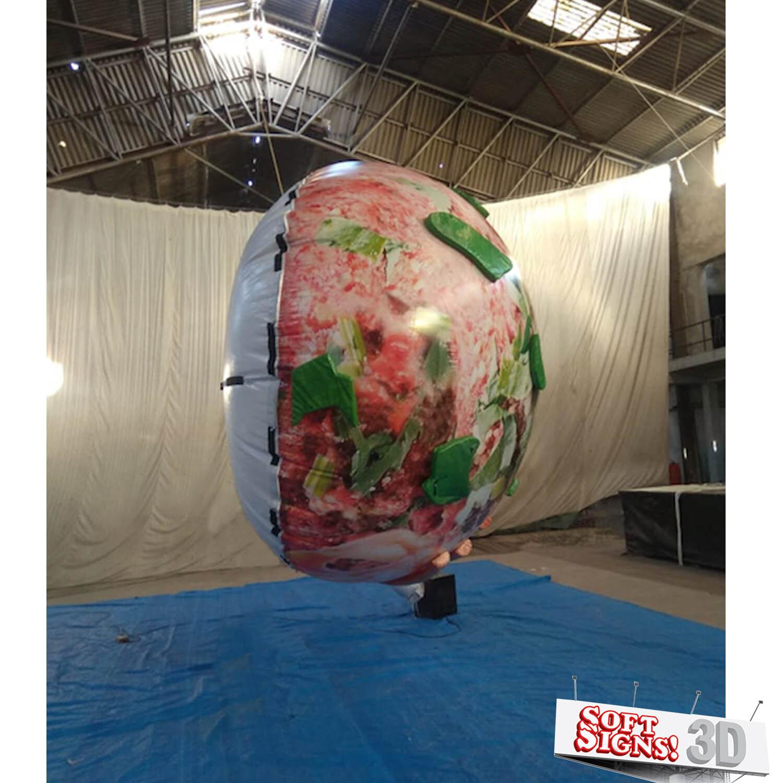 Meatball 3D AirSculpture Process