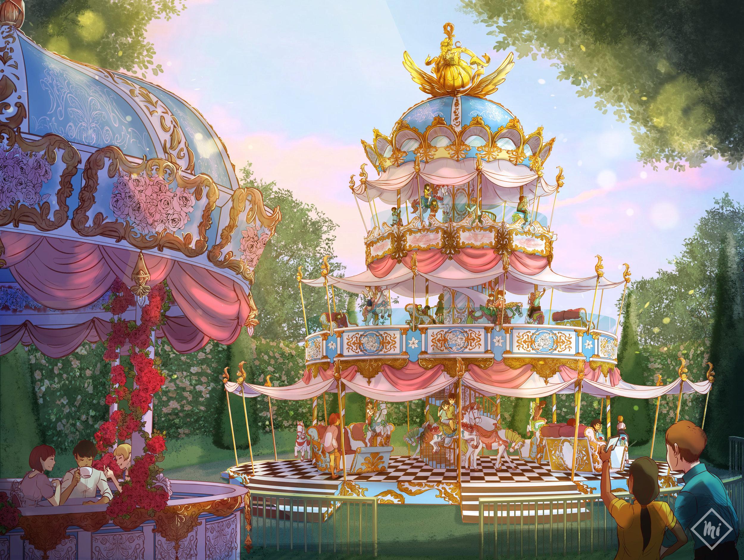 Rococo Carousel for MI Concept & Design