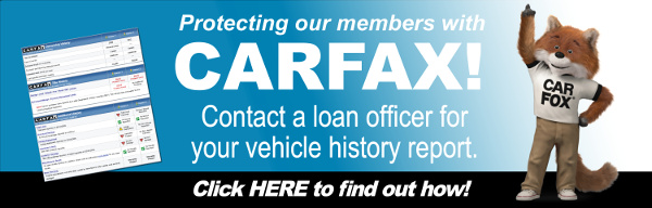 Ask for your Carfax report to find your vehicle history report