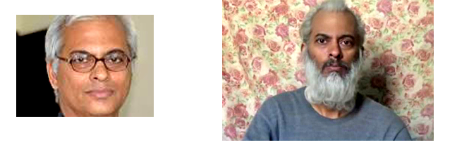 Father Tom Ushannalil, earlier picture (l), latest (R)