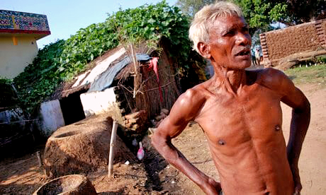 Life is hard in Dalit villages