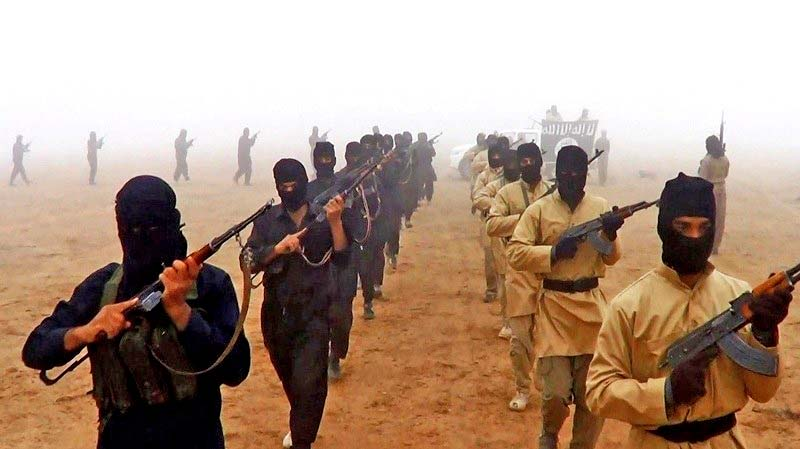 ISIS militants, once on the march but now in retreat and disarray everywhere