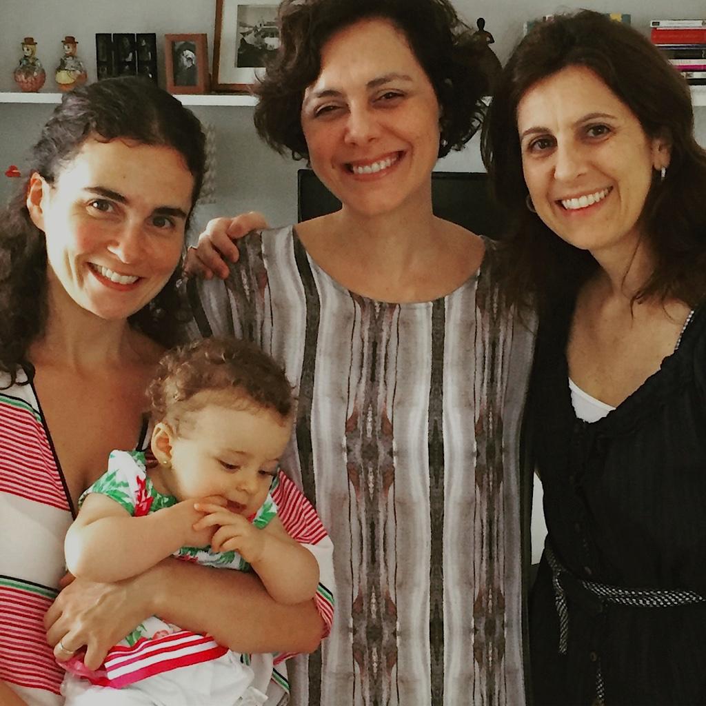 Mari, eu, Ana e a pequena Sophia