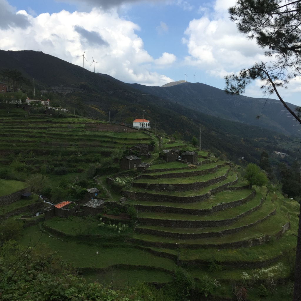 Terraços na aldeia de Piódão