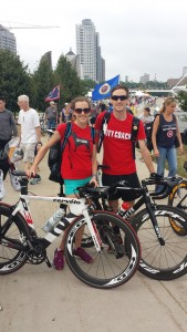 Me and Ross the ronery Ritte Rider