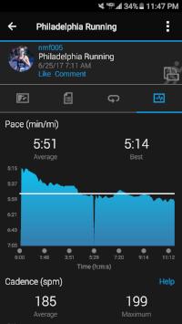 Reverse progression run style