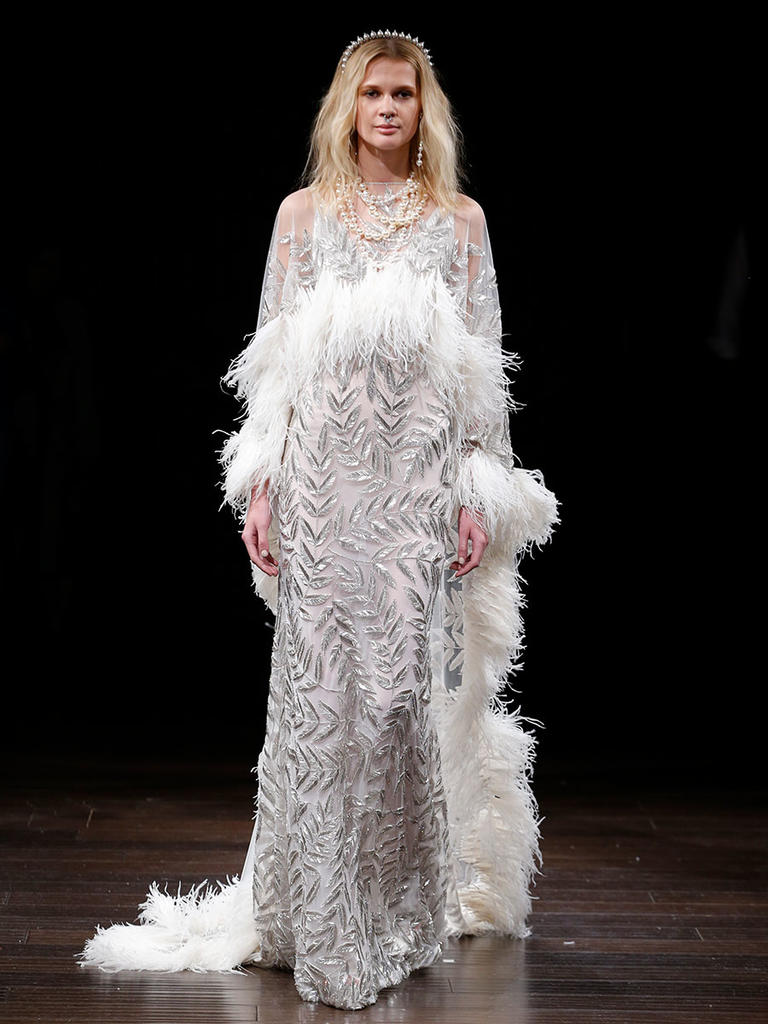 Naeem Khan Spring 2018 Wedding Dress Collection