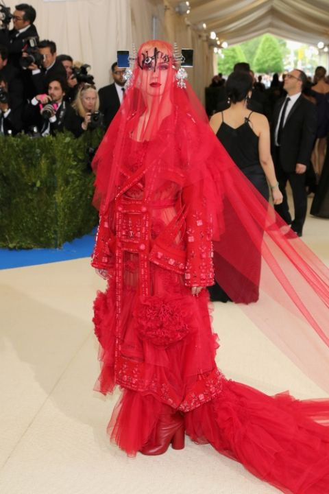 Katy Perry in Maison Margiela by John Galliano