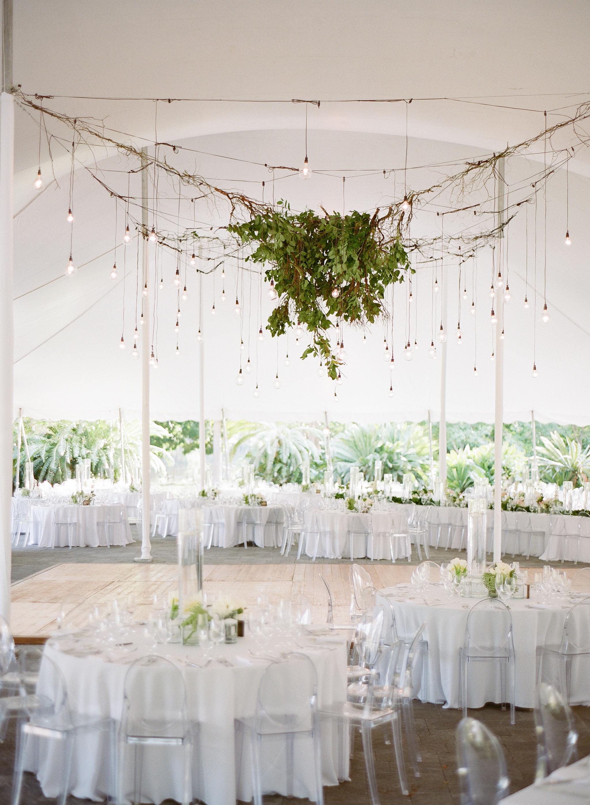 Wedding Flower Chandelier