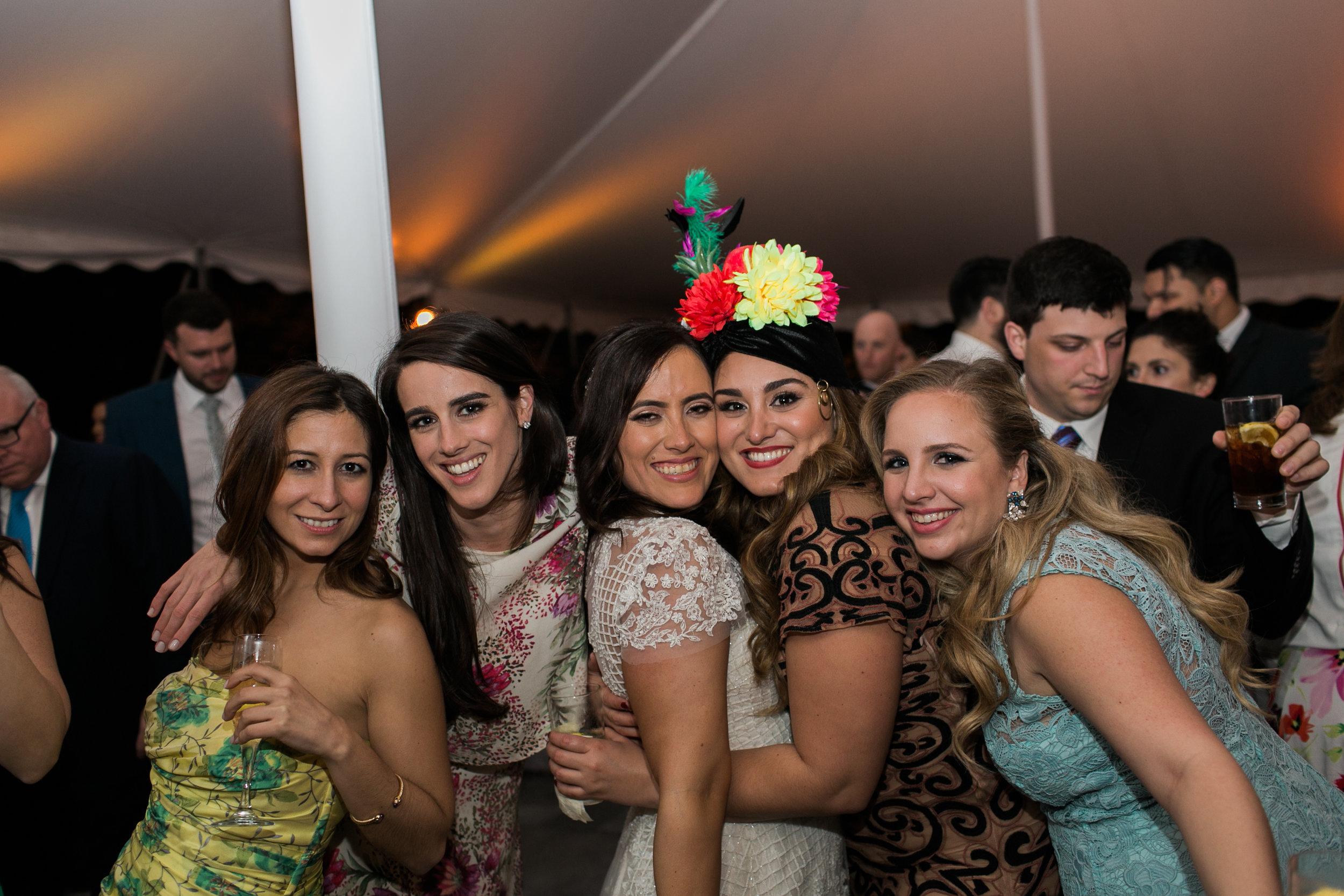 Garden Wedding Reception in Miami, Florida