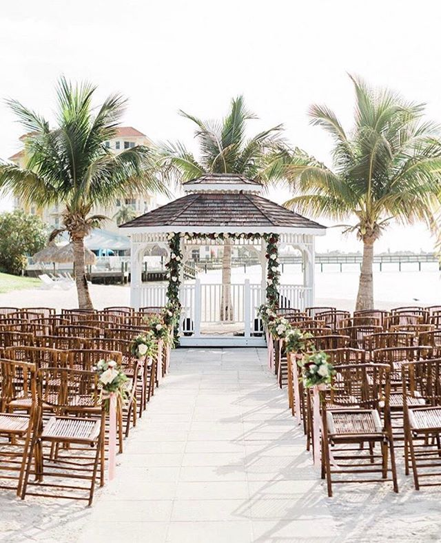 If this doesn't scream Miami wedding, then I don't know what does🌴💐 The perfect mix between beachy vibes and absolute elegance✨✨ ⠀⠀⠀⠀⠀⠀⠀⠀⠀ ⠀⠀⠀⠀⠀⠀⠀⠀⠀ Photo @laurengallowayphotography // Dress @allurebridals // Bridal Salon @ccsbridalboutiques // Groom's attire @menswearhouse // Wedding Planner @kimberlyhensleyevents // Venue @isladelsolycc // Floral Design @izasflowers // Dessert Bar @alessibakery // Hair and Make-Up @style.hairandmakeup // Band @baykingsband ⠀⠀⠀⠀⠀⠀⠀⠀⠀