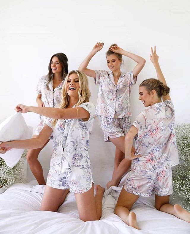 Aint no party like a #pajamaparty 💋 how adorable are these #pajama sets from @lerose_online? We love all the different prints and styles to choose from 😍 Are you more of a #robe or #pj girly? 🤷‍♀️🤷‍♀️🤷‍♀️