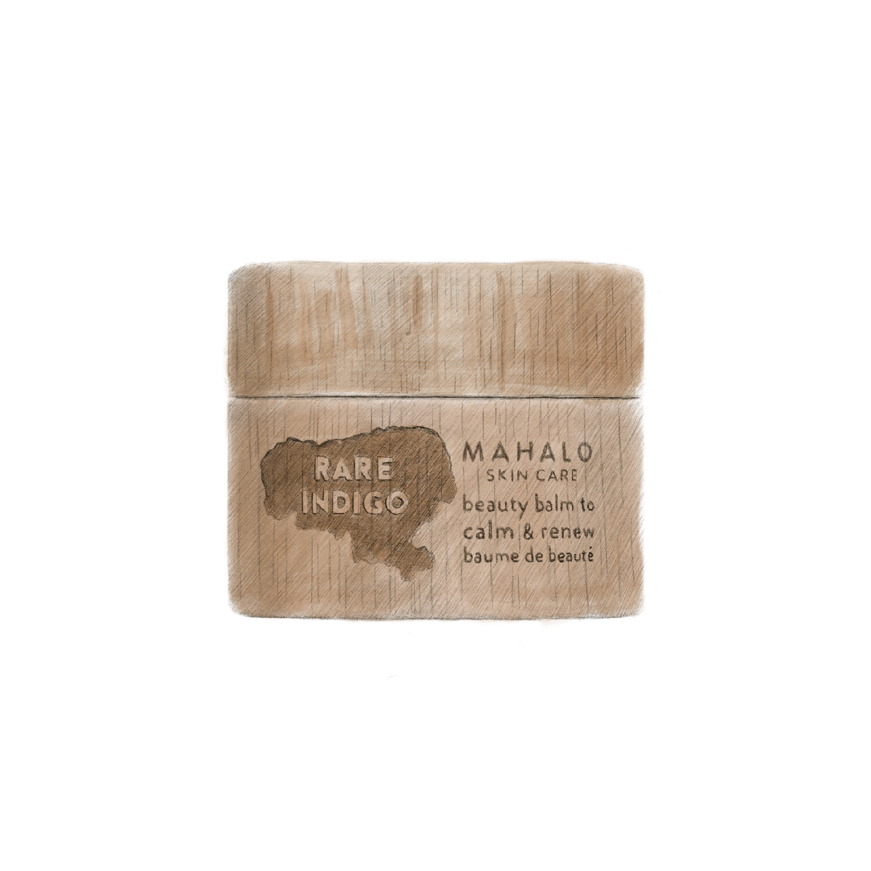 Mahalo Skin Care Illustration - AM Design
