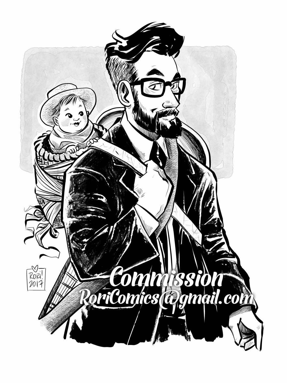 Portrait Commission: Custom Style