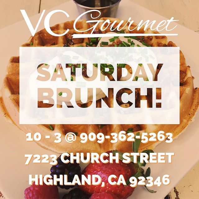 Who's ready for Saturday BRUNCH?? #vcgourmet #instagood #inlandempire #easthighland #redlands #highlandca #iefoodie #inlandempireexplorer #forkreport #chefmode #ForTheChefs #chefsofinstagram #chefsoninstagram #LAchefs #lafoodies #cheflife #eaterla #latimesfood #zagat #EatMunchies #spoonfeed #foodbeast #thisisinsider #insiderfood #eatfamous #buzzfeast #visitcalifornia #mychefstable