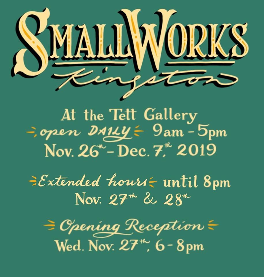 small works kingston ontario