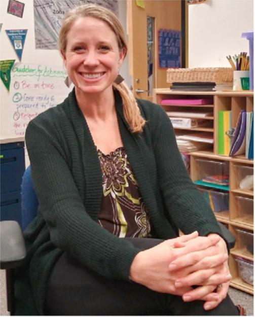 Molly Rawding, Math Specialist at Fiske Elementary School