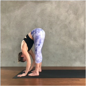 Forward Fold (Uttanasana) Exhale