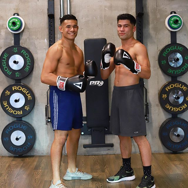 Join our two lean, mean boxing trainers for a sweat session where you'll learn technique and how to pack a punch 🥊
