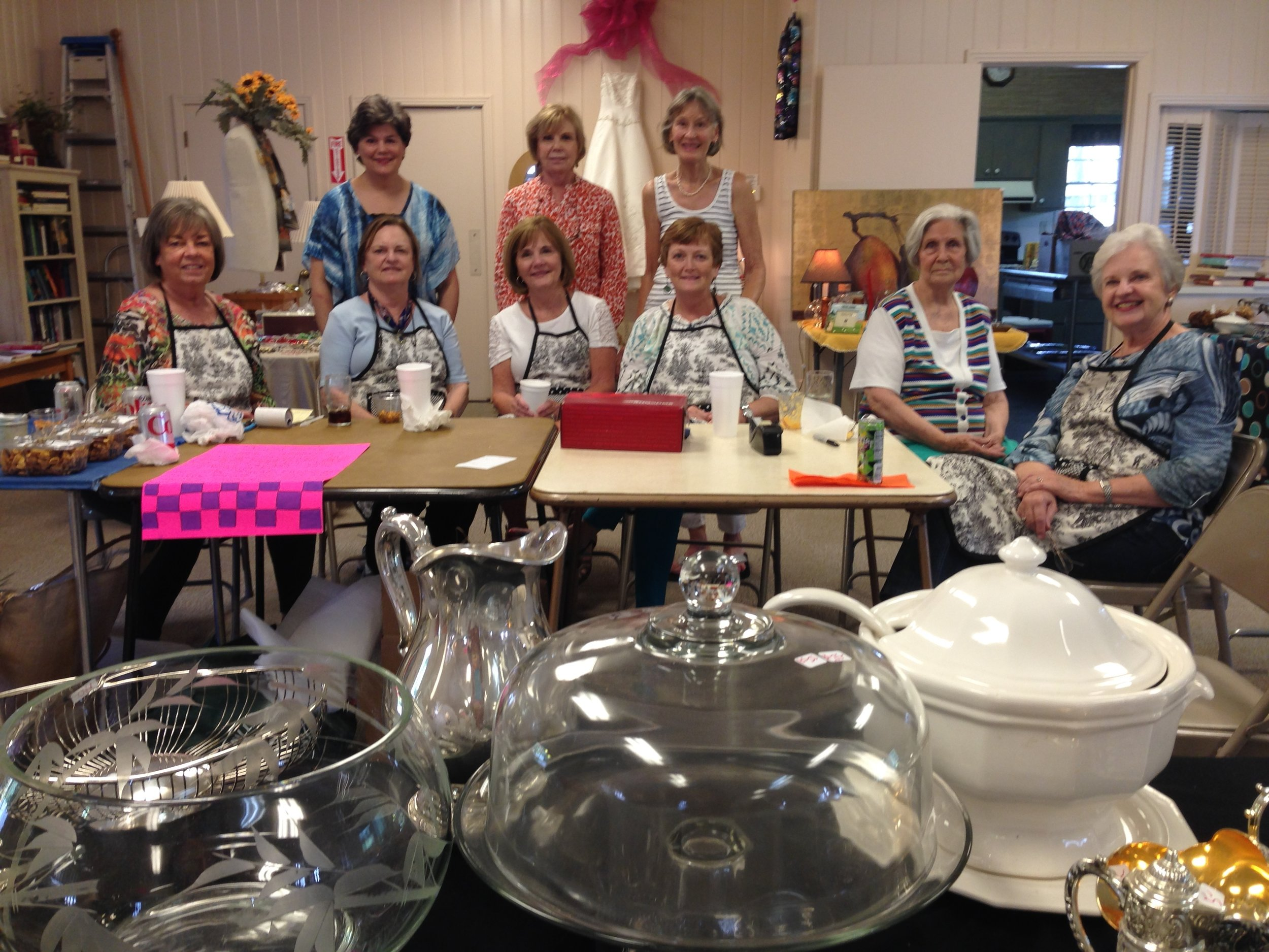 Church Members hold Rummage Sale to Raise Funds for Outreach