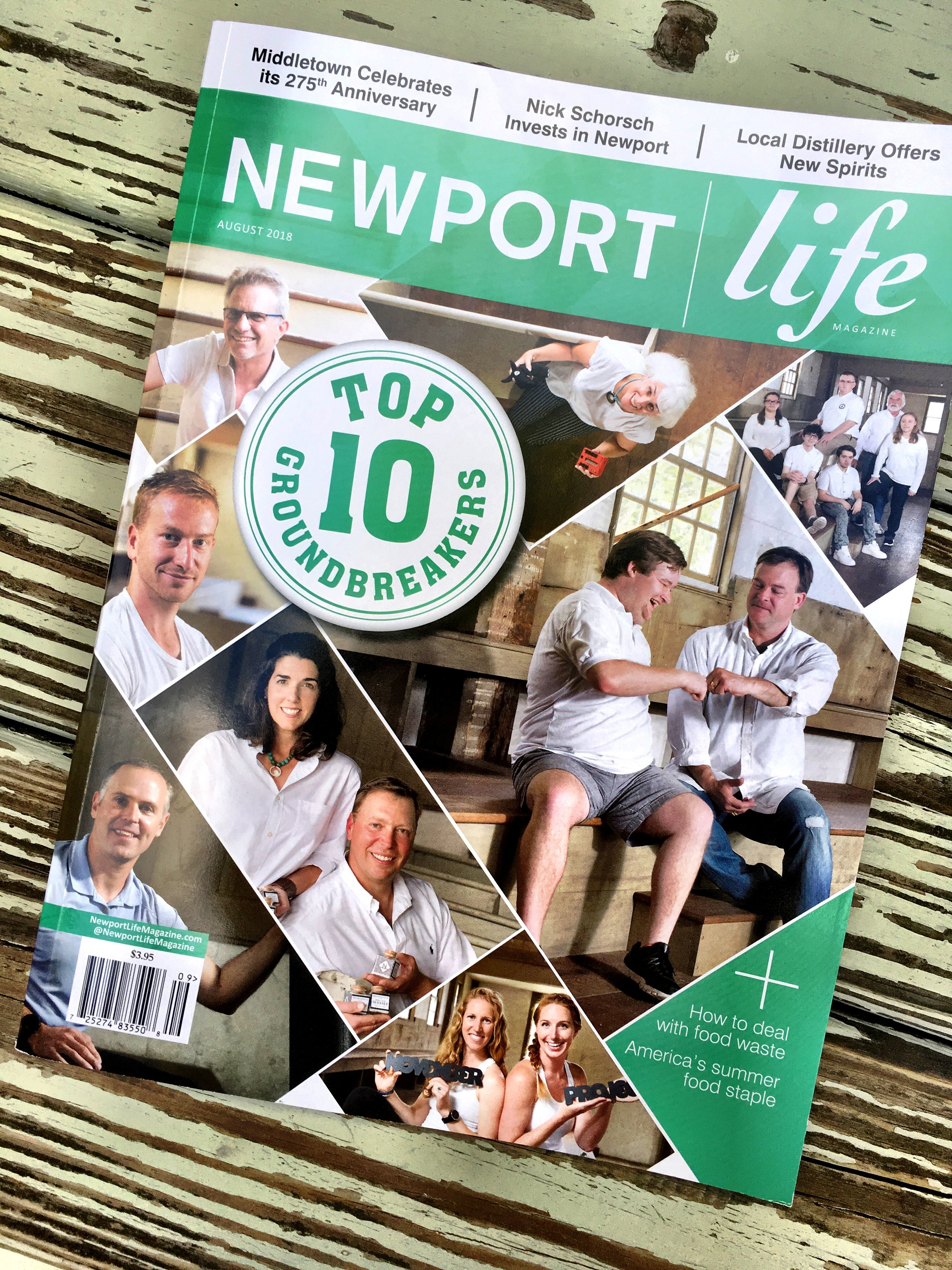 Thank you, Newport life!