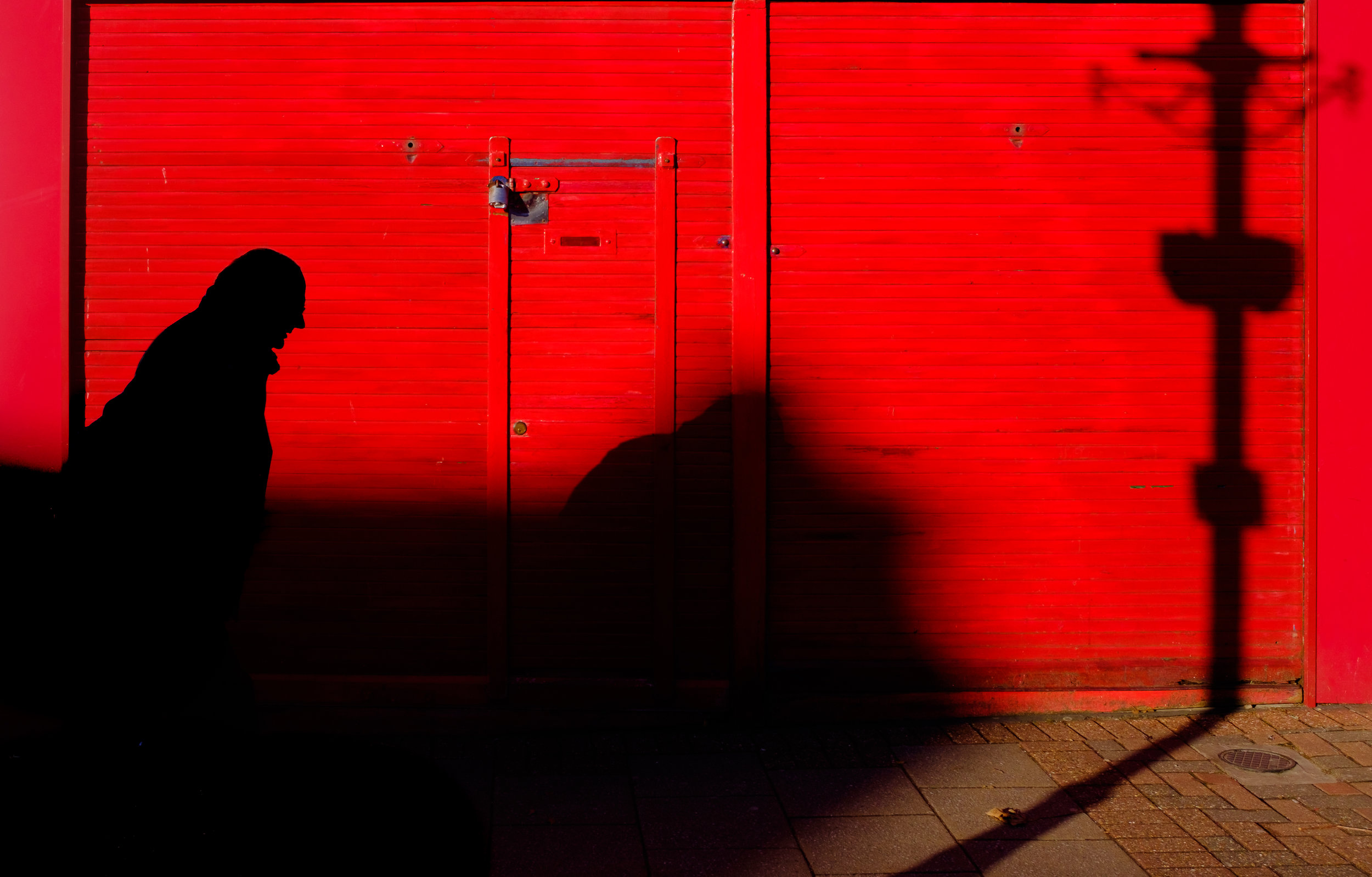 From the shadows -