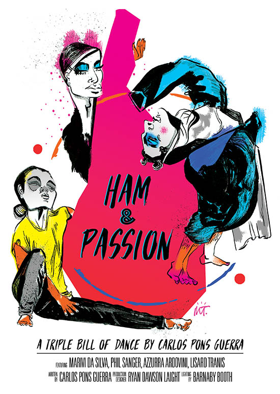 Ham and Passion Dance Tour Poster