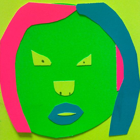 Art Club Neon Portraits