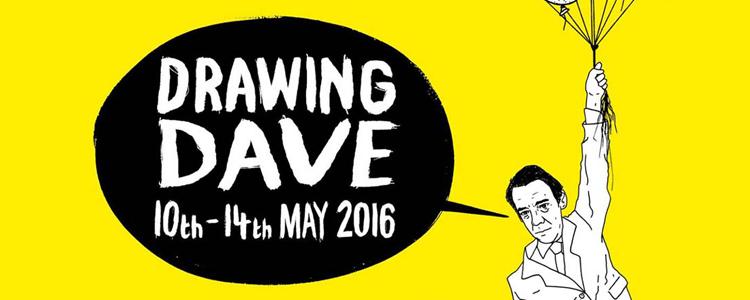 Drawing Dave Exhibition Birmingham