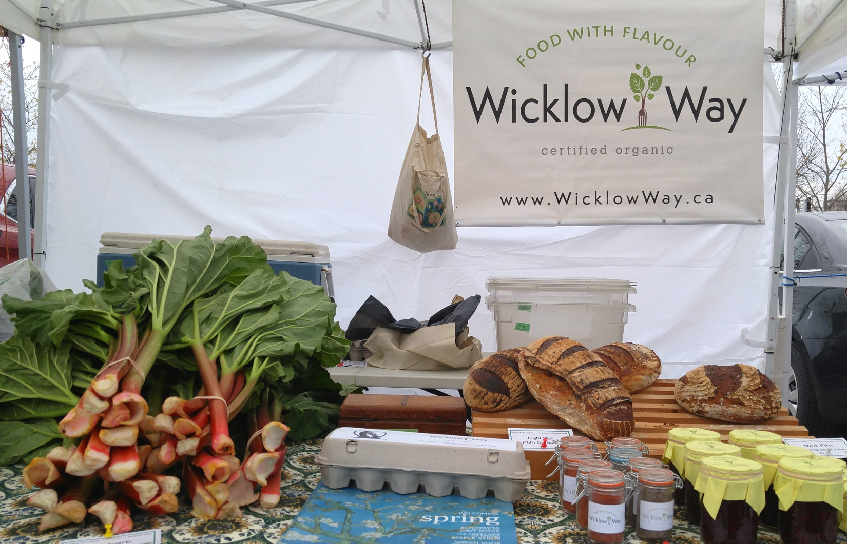 Some of the wonderful offerings of Wicklow Way Farm.