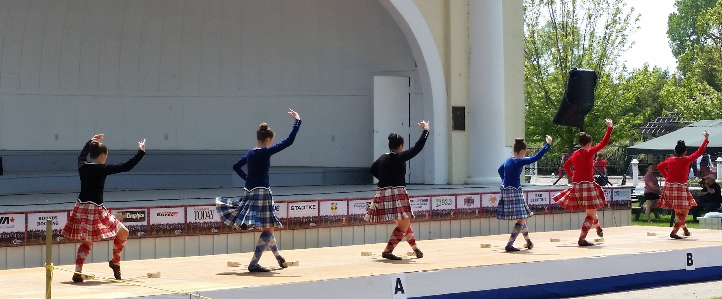 Highland Dancing competition.
