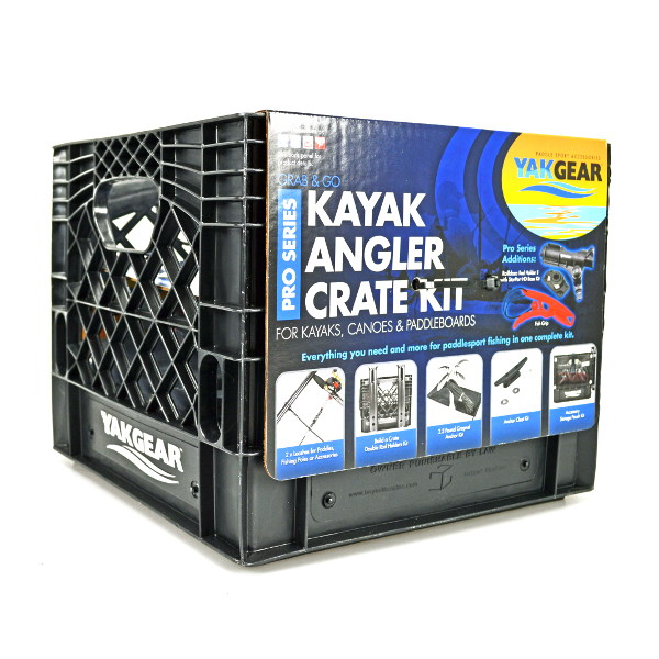 Yakgear Kayak Angler Crate Kit