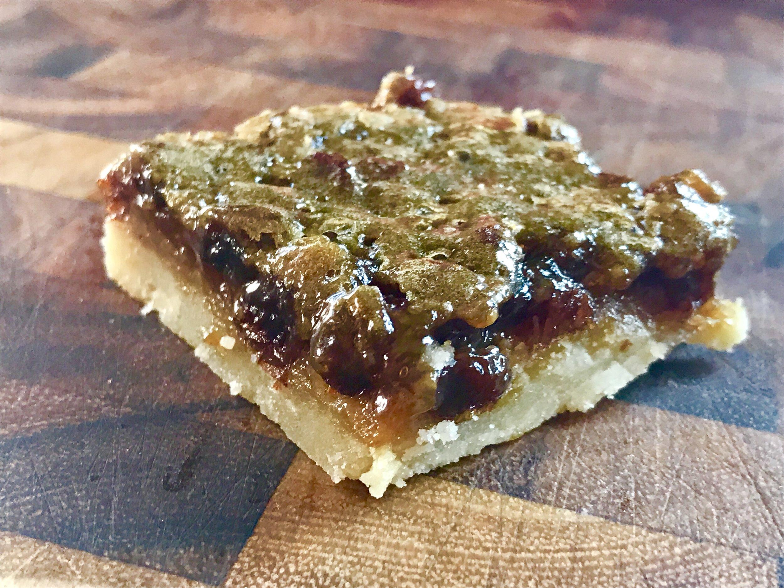 Butter Tart Slice see recipe here  https://www.alittleofanything.com/home/2017/6/24/classic-butter-tart-updated