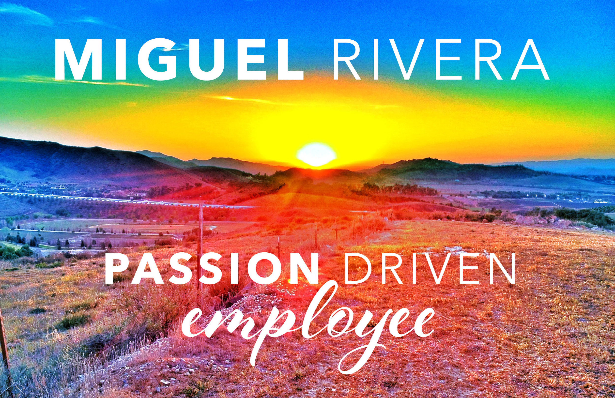 Passion Driven Employee | Andres Rojas