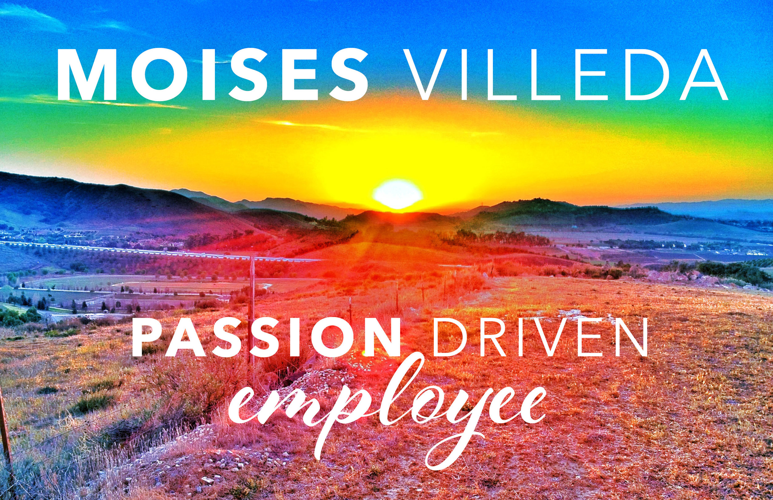 Moises Villeda - - Healing Care Hospice Passion Driven Employee