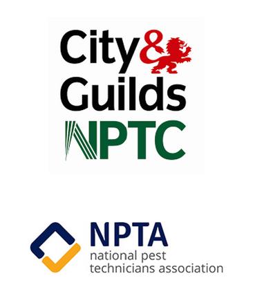 NPTA National Pest Control Association, City & Guilds Qualifications for PEst COntrol