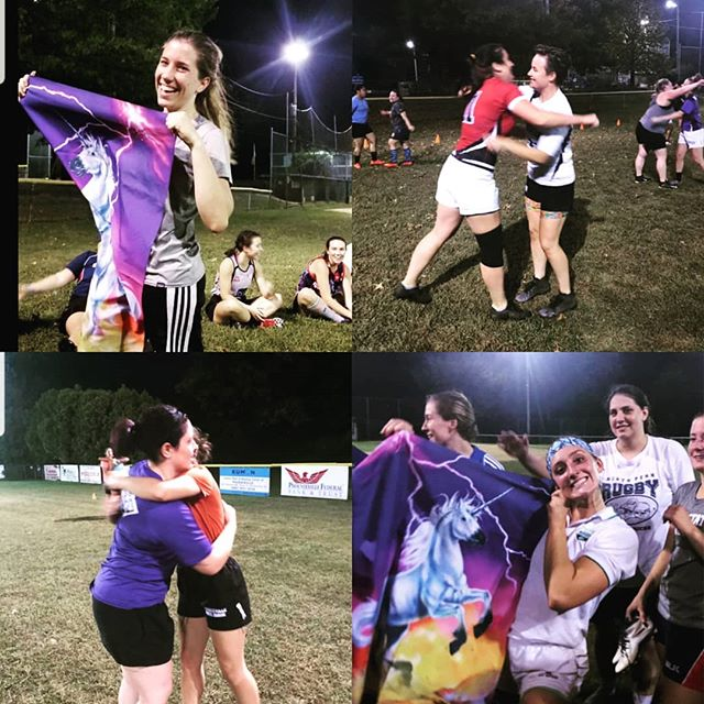 Happy Thursday Unicorns! White Horse Women's practice tonight is back at Marosek Park from 7pm to 9pm. New players are always welcome. Bring a friend and come give rugby a try. #rugby #Phoenixville #workworkworkworkwork #saturdaysarugbyday #practice #thursday #practicemakesperfect #delco #pottstown #kingofprussia #workhardplayhard #hugitout #unicorns #horsepower #makefriends #fitness #womeninrugby #womensupportwomen #15as1 #50somethingas1