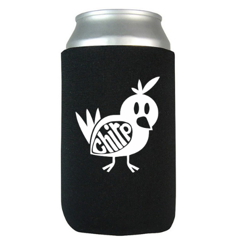 Peep the new online merch store now feat. beer coolies!!! Click image or head to chirpband.com/merch! -