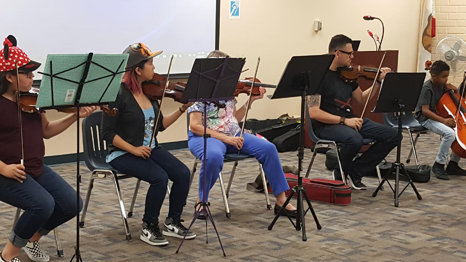 Performance at West Covina Library