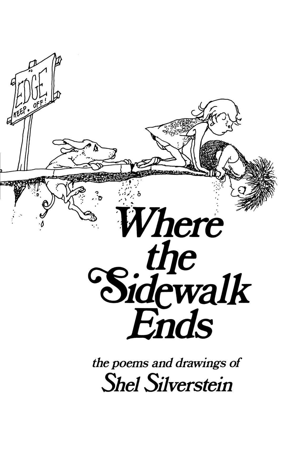 Where the Sidewalk Ends   Shel Silverstein