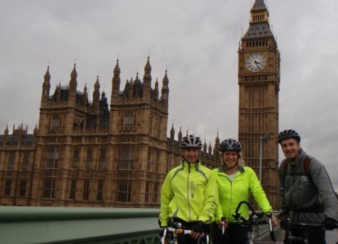 My first adventure. Cycling to paris, in memory of my dad .