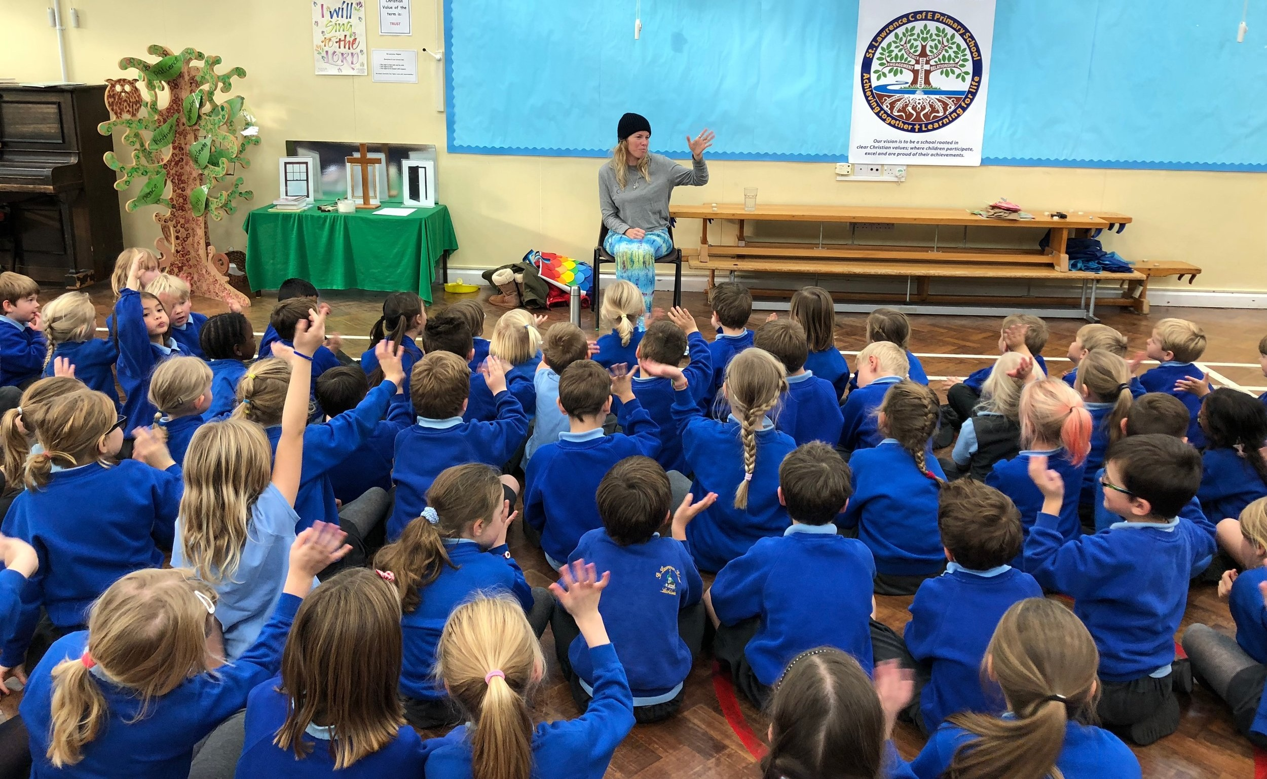 Lechlade primary in my mermaid tail