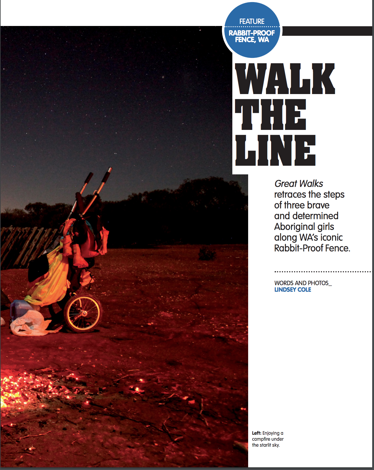 Great Walks magazine, Australia