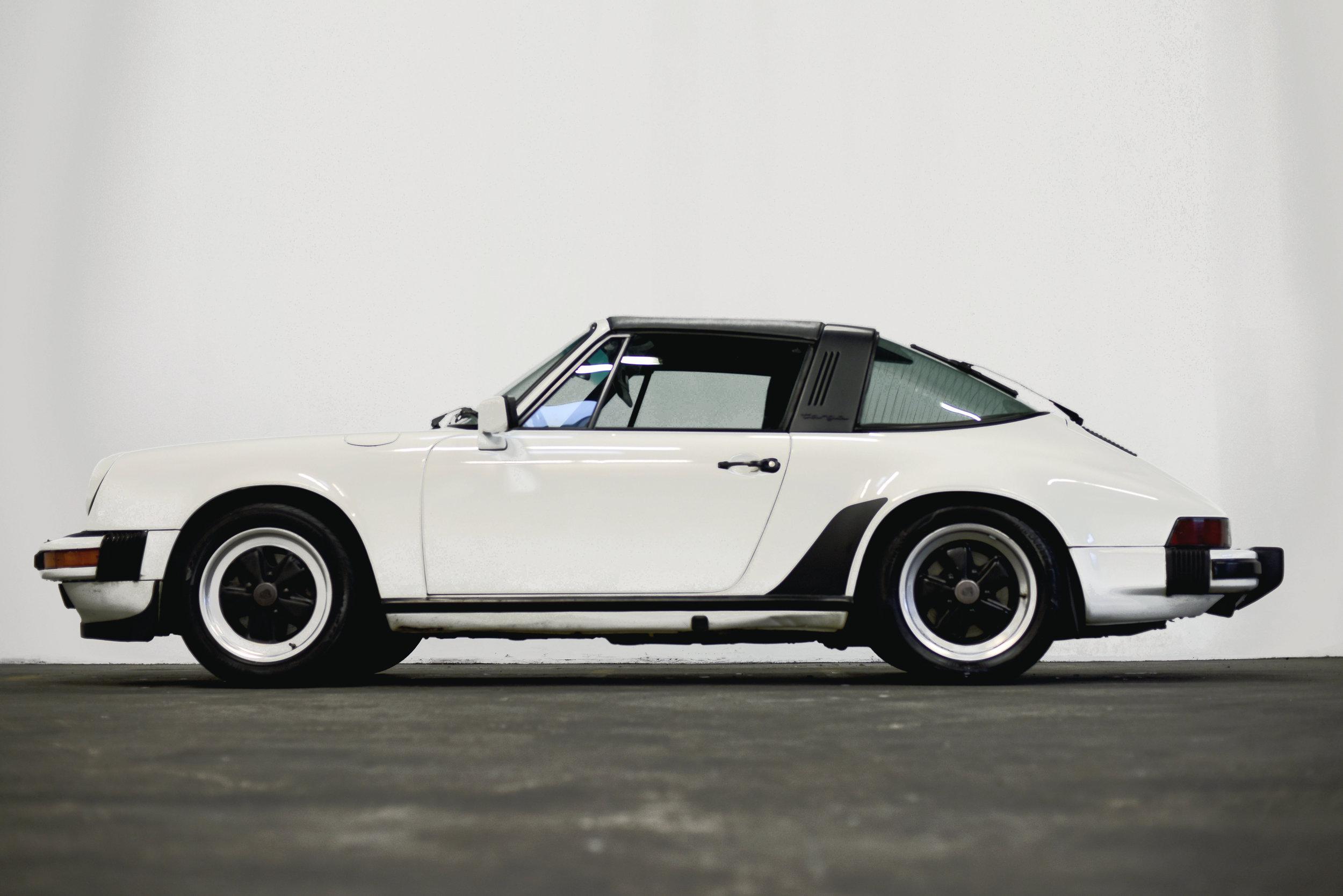 1986 Porsche 911 Targa - Sold March 10, 2019