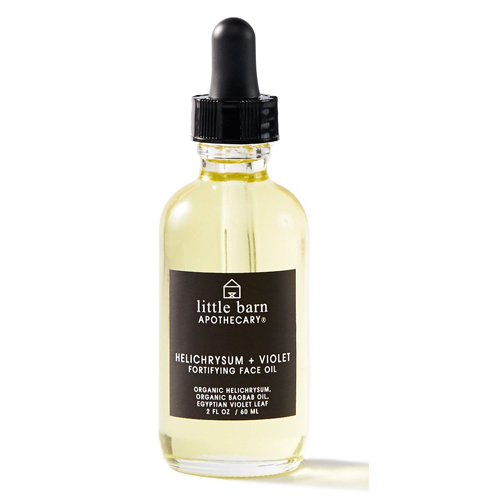 LITTLE BARN  - HELICHRYSUM + VIOLET FORTIFYING FACE OIL  $78
